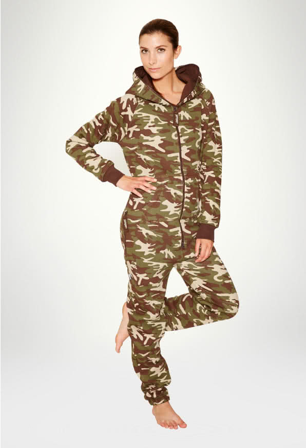 Jumpsuit Original Camouflage - Woman