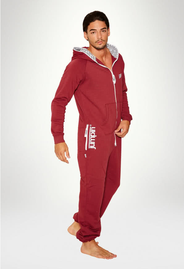 Jumpsuit Original Burgundy - Man
