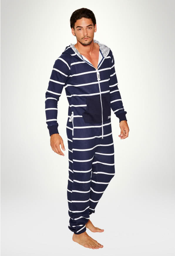 Jumpsuit Original Stripe Navy - Man