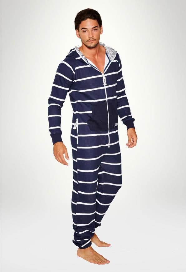 Jumpsuit Original Stripe Navy - Man