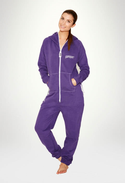 Jumpsuit Original Purple - Dame Buksedragt