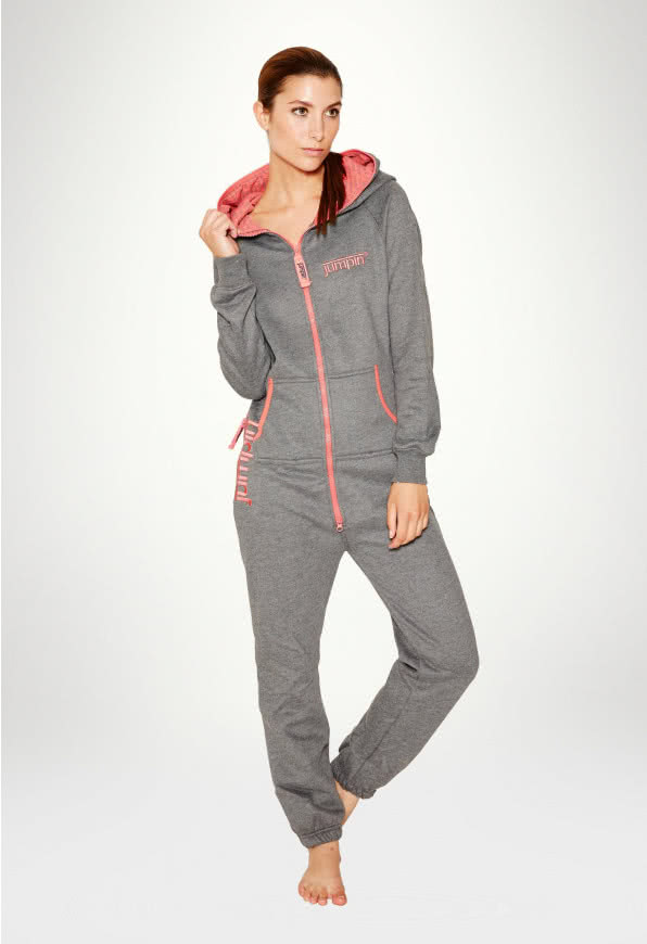 Jumpsuit Original Dark Grey - Dame buksedragt