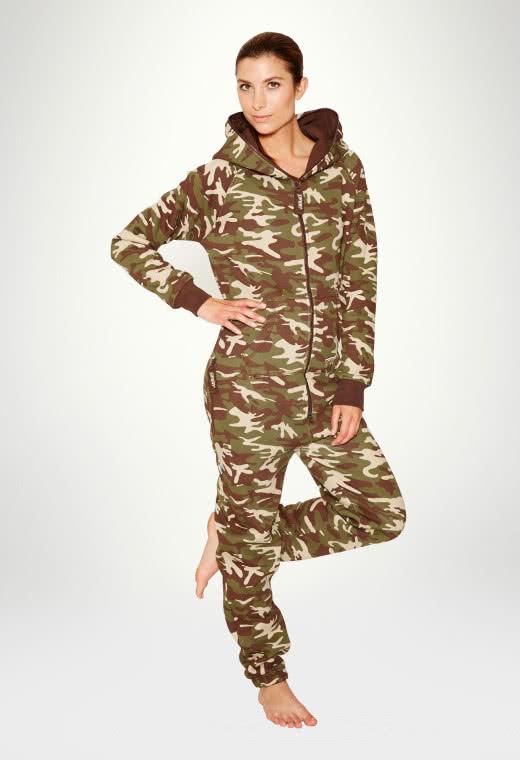 Jumpsuit Original Camouflage - Dam haalareita