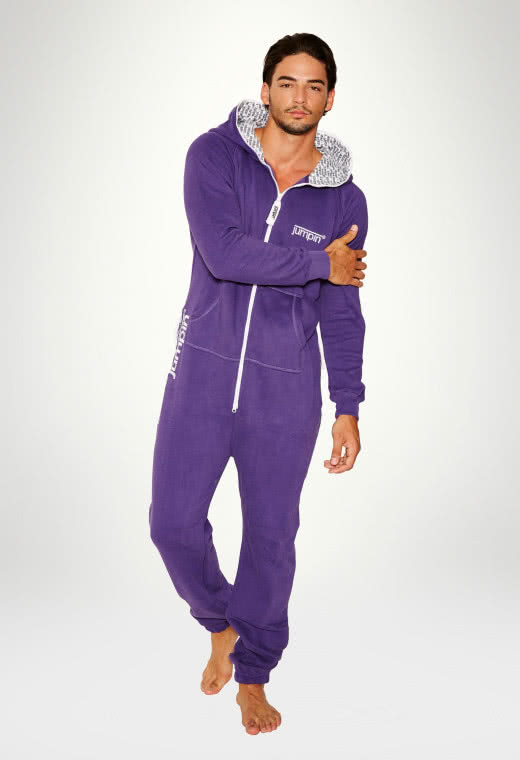 Jumpsuit Original Purple - Herr Haalari