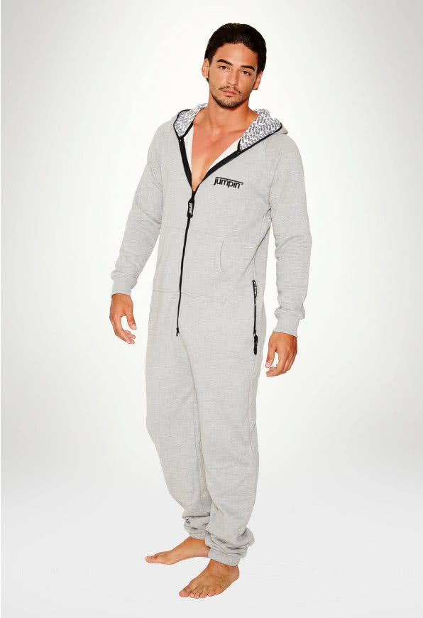 Jumpsuit Original Grey 2.0 - Herr haalareita