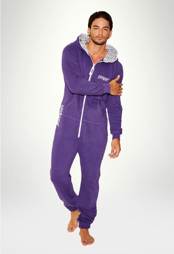 Jumpsuit Original Purple - Herr Haalari