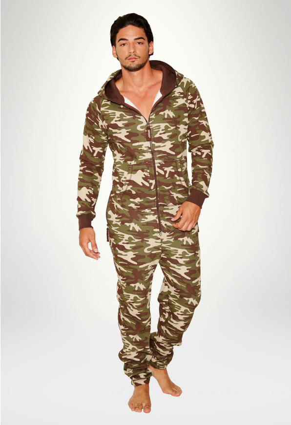 Jumpsuit Original Camouflage - Herr haalareita