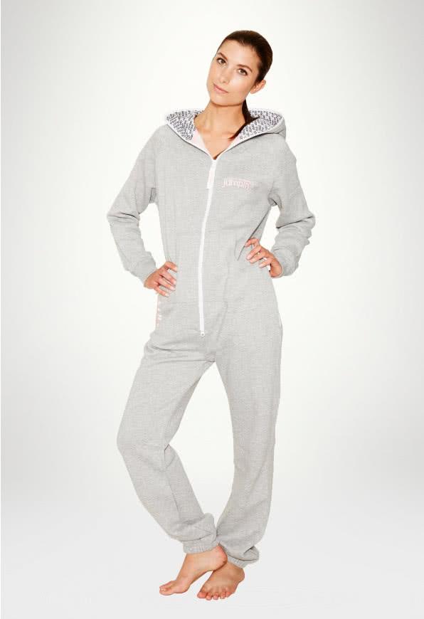 Jumpsuit Grey Candy - Damen